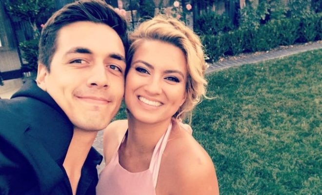 Tori Kelly and finance Andre Murillo