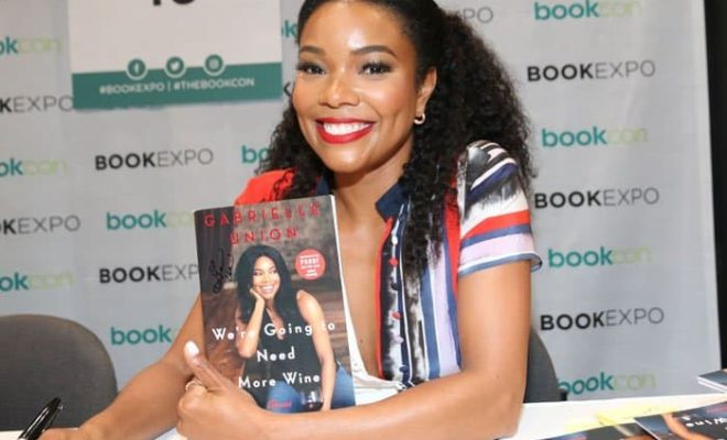 Gabrielle Union and book signing