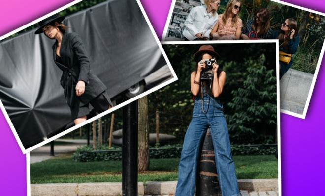 Stockholm Fashion Week Street-Style collage