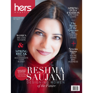 Hers magazine March/April 2016