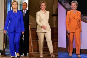 Hillary Clinton pantsuits