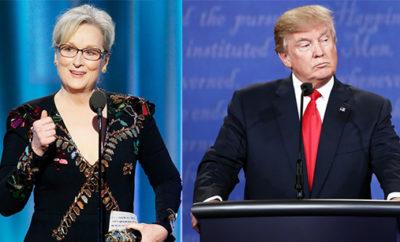Donald Trump fires back at Meryl Streep
