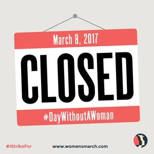 #ADayWithoutWomen