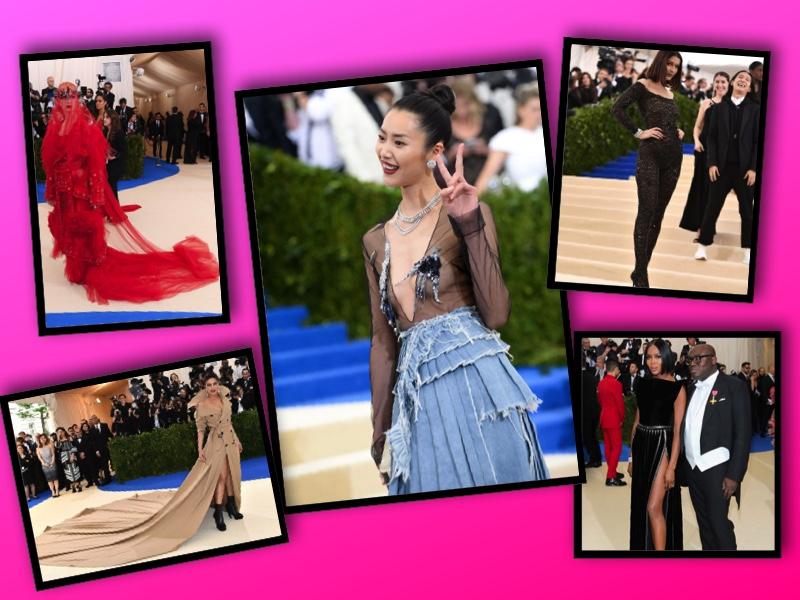 Katy Perry, Pryanka Chopra, Liu Wen, Bella Hadid, & Naomi Campbell 2017 Met Gala