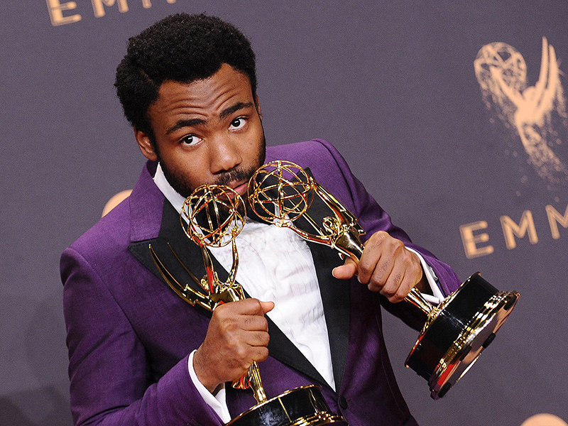 Donald Glover at 2017 Emmys