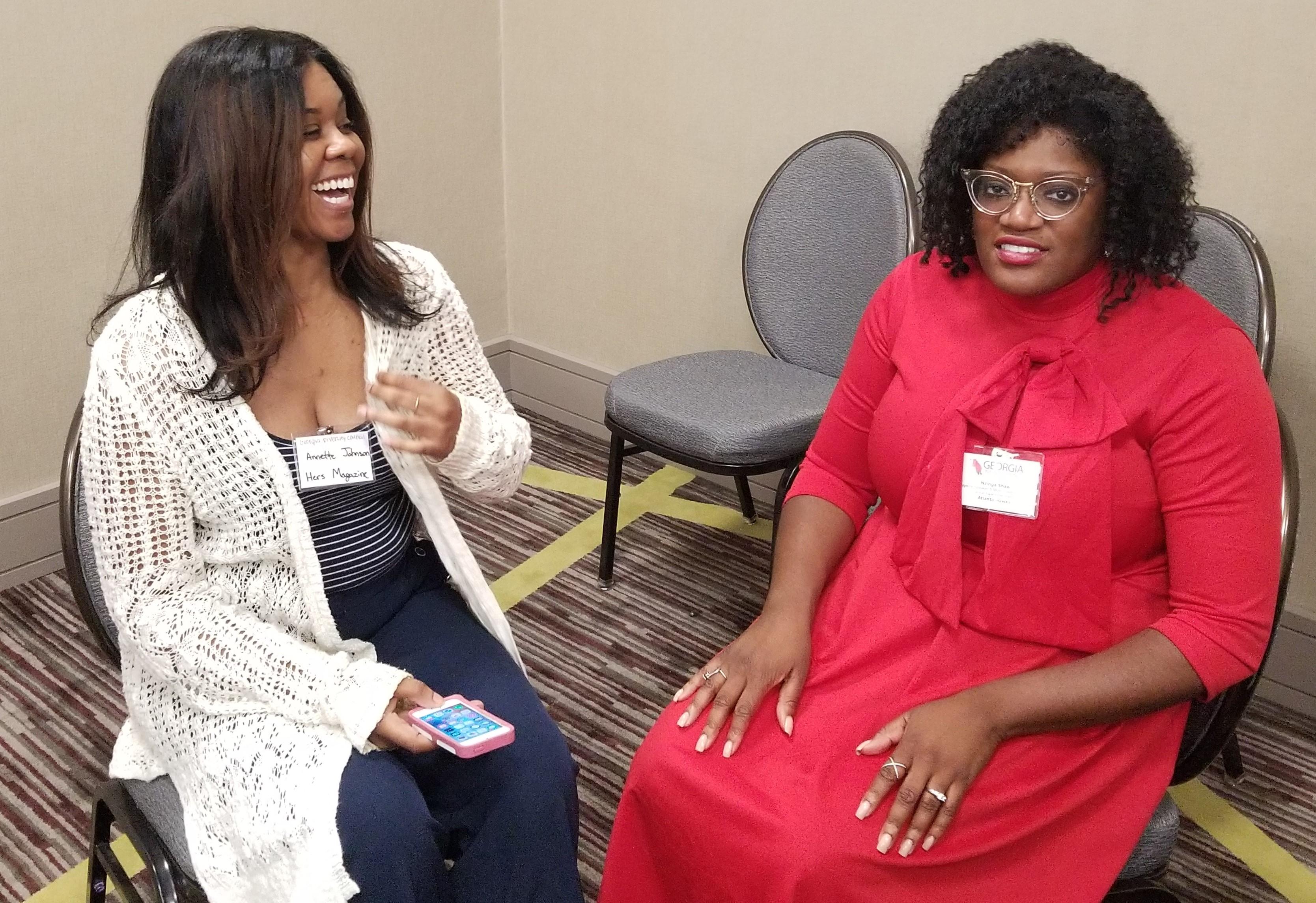 Nzinga Shaw keynote speaker Georgia Leadership Conference