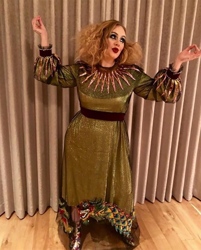 Adele Halloween 2017