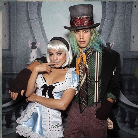 Vanessa Hudgens as Alice in Wonderland