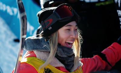 Chloe Kim, snowboarding, Winter Olympics, 2018