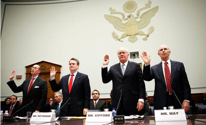 bank bailout hearing