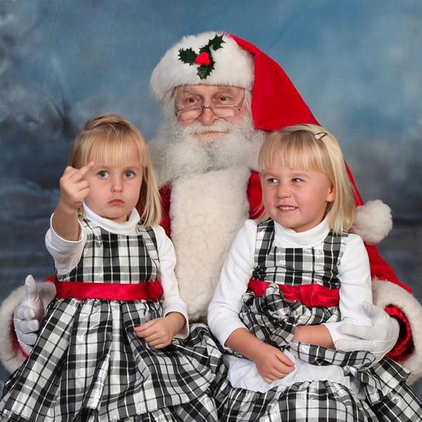 funny kid and santa photos - Santa And Kids