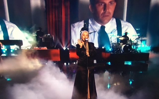 Christina Aguilera's Whitney tribute