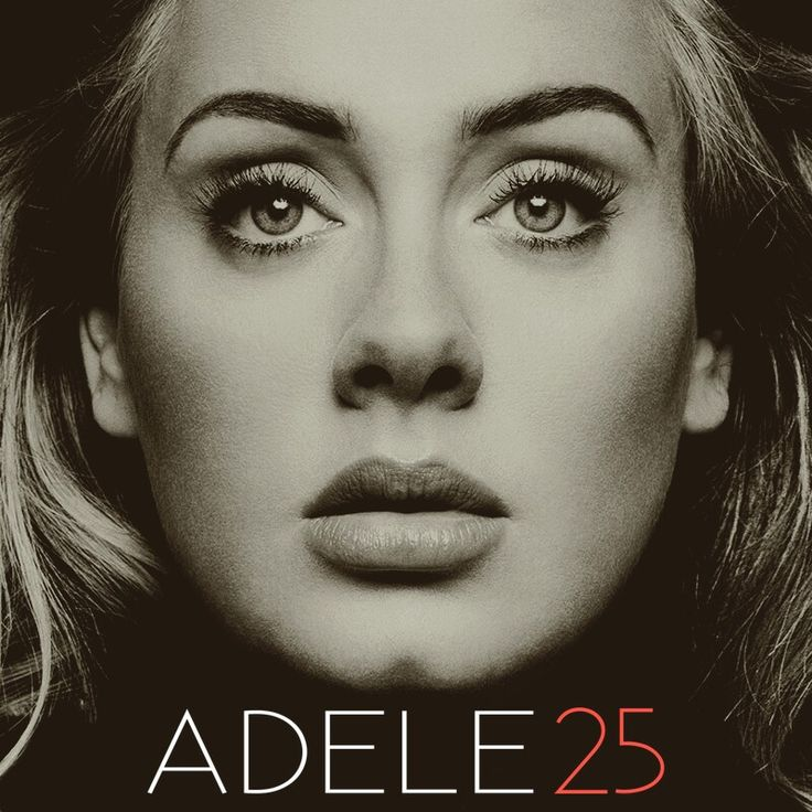 adele, 25, hello, send my love to your new lover