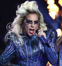 lady gaga, super bowl, bad romance, poker face, gaga