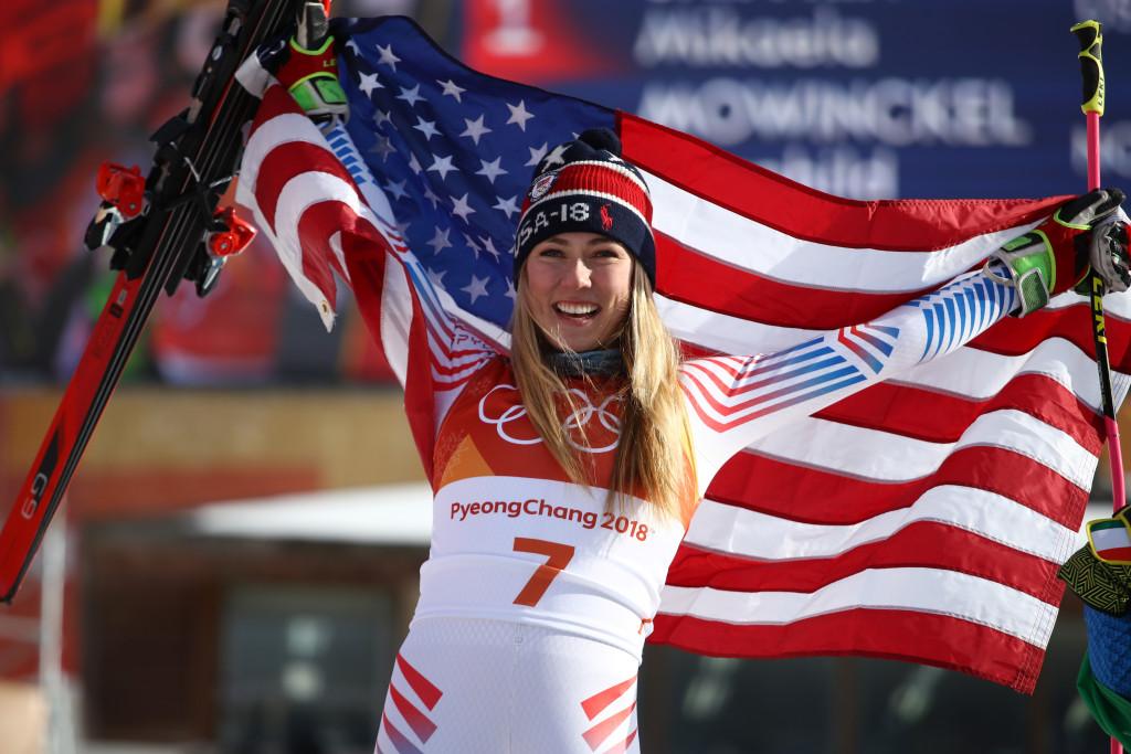 Mikaela shiffrin, olympics 2018