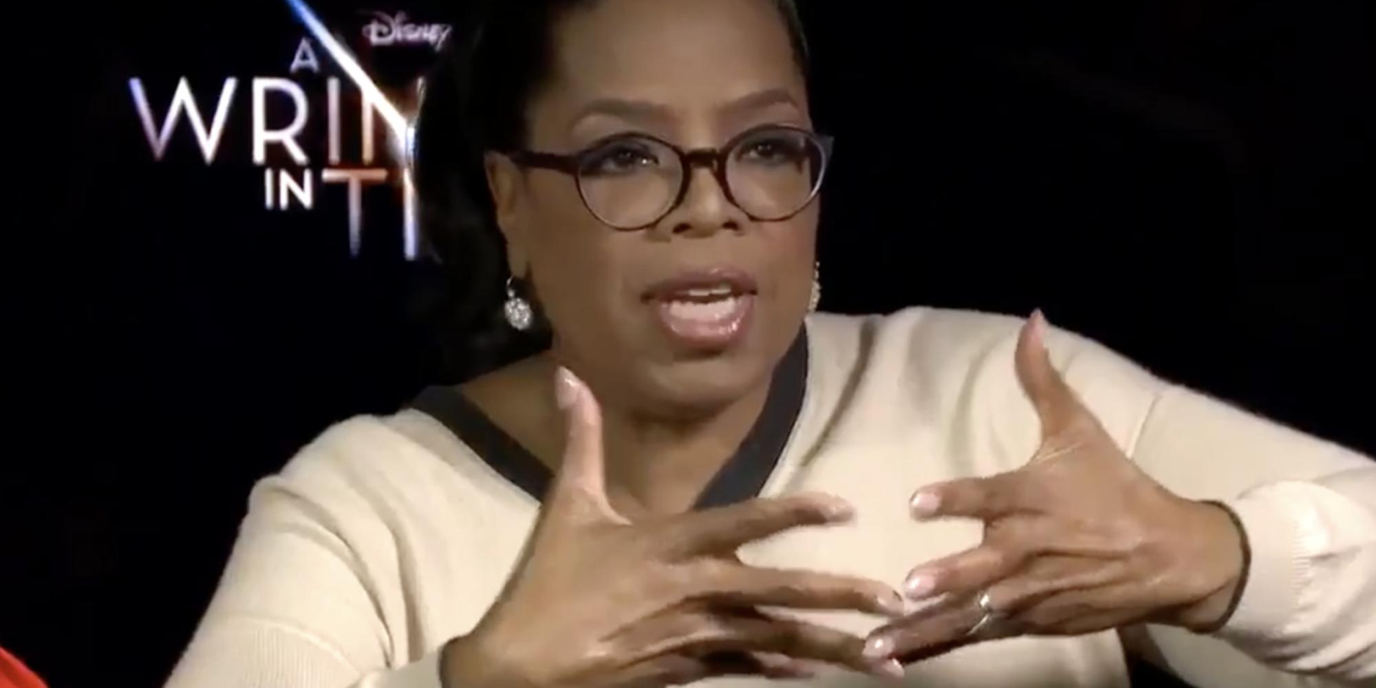 Oprah responds to monique