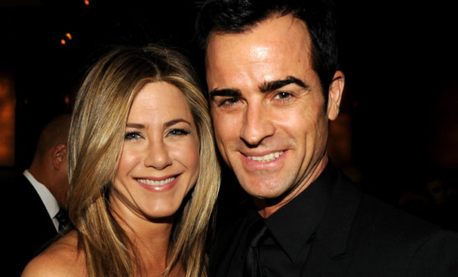 Jennifer Aniston, Justin Theroux, Paul Rudd, Vince Vaughn, John Mayer, Brad Pitt, split, divorce, separation, husband, celebrity couples