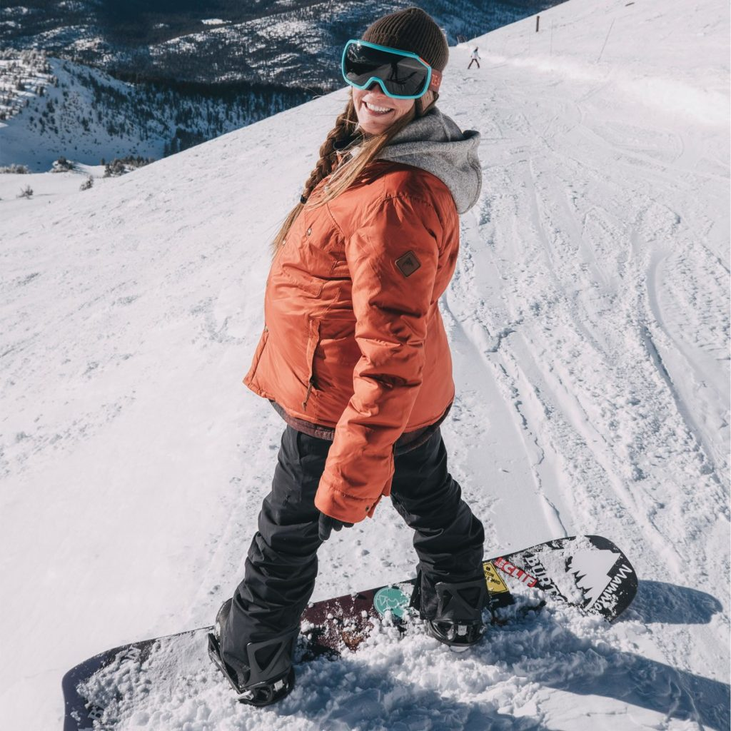 kimmy fasani, snowboarding while pregnant