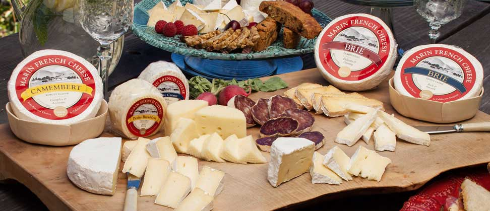 Marin French cheese collection