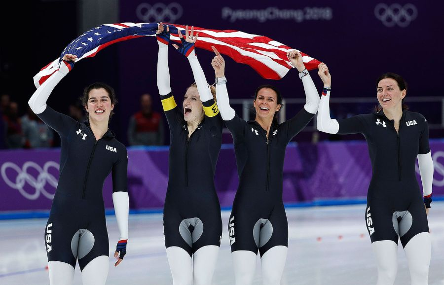 team usa, women's speed skating