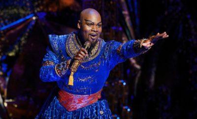 genie, Aladdin, broadway, touring