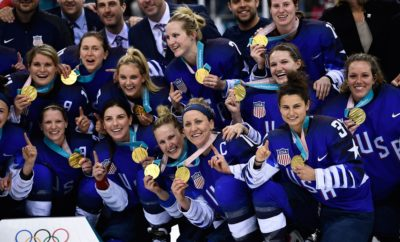 women's hockey, team USA, 2018 olympics, victory