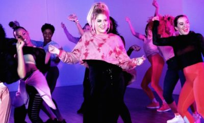 Meghan Trainor at Zumba for No Excuses