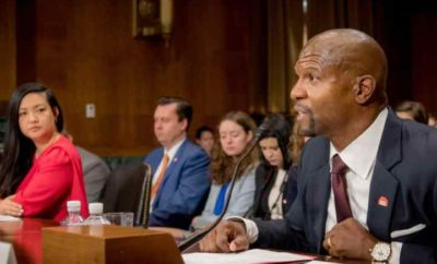 Terry Crews testifying