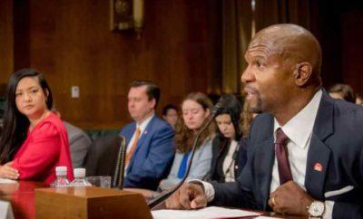 Terry Crews testifying