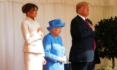 Donald Trump meets Queen Elizabeth