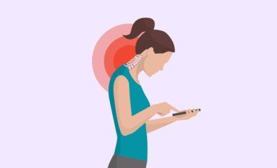 text neck in women
