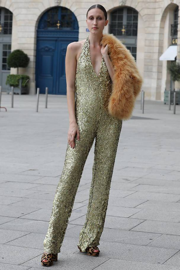 street style Paris couture