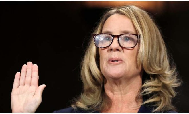 Christine Ford testifies