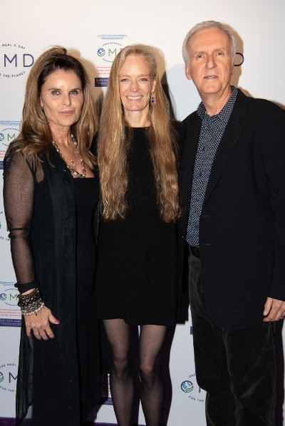 Maria Shriver with James Cameron