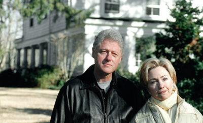 Bill and Hillary Clinton at New York