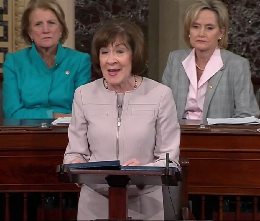 Susan Collins supports Kavanaugh