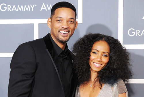 Will and Jada at Grammy's
