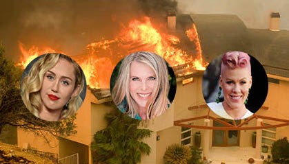 Celebrity California Fire Victims