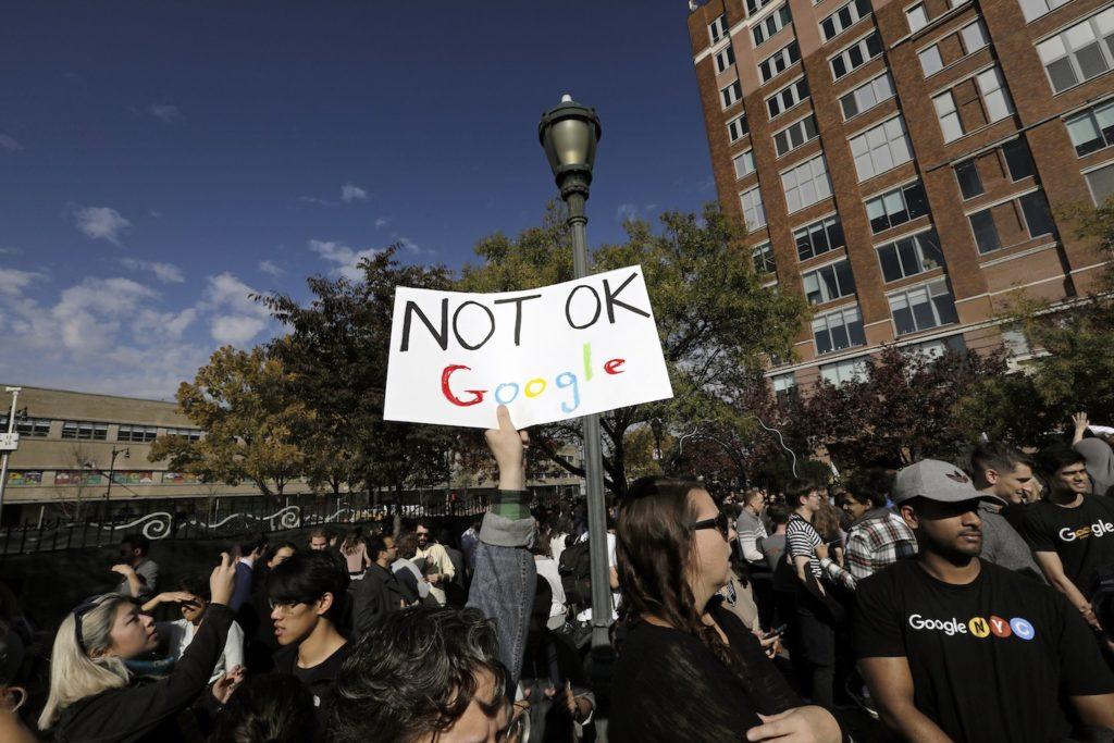 Google employees strike