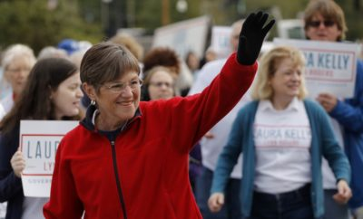 Laura Kelly win