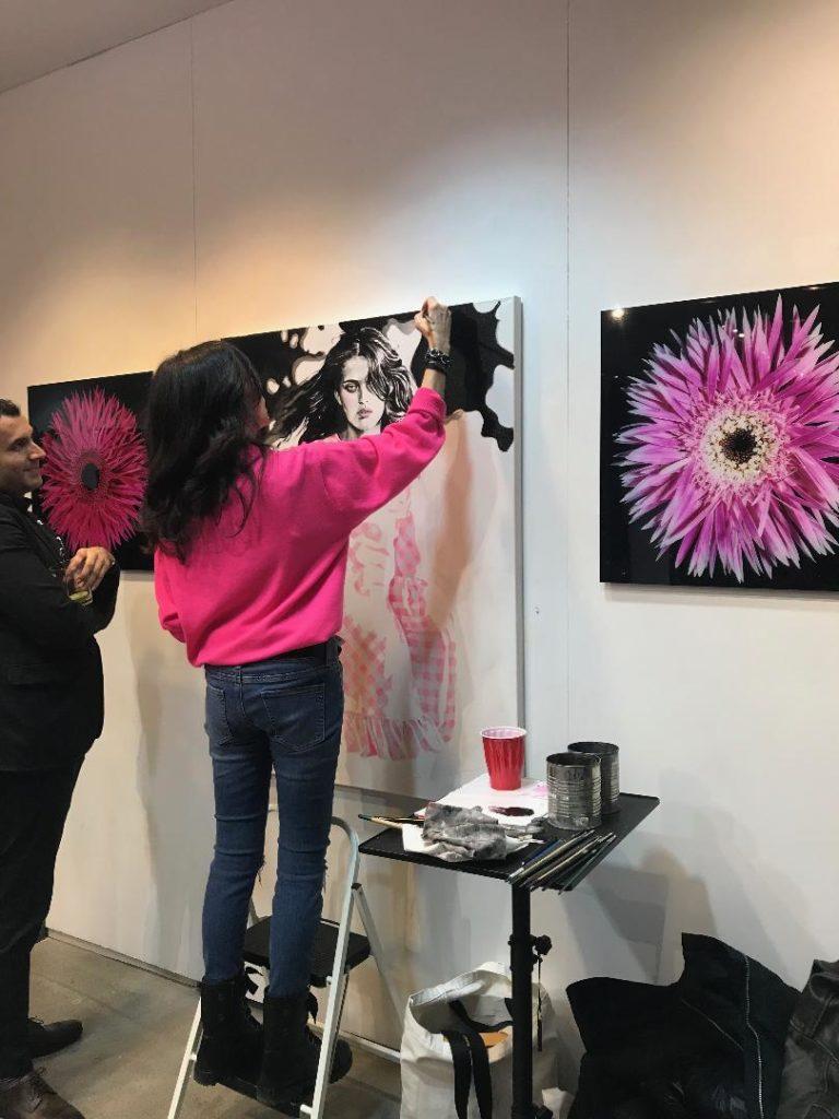 Cindy Press at LUMAS Gallery