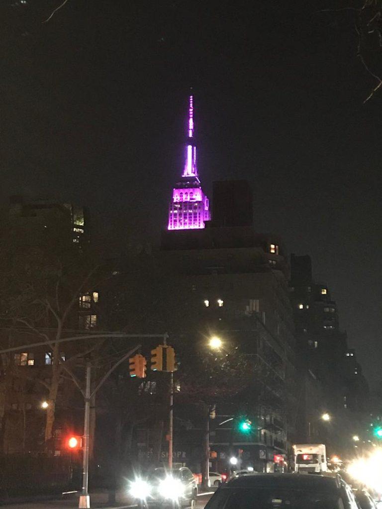 New York on International Women's Day