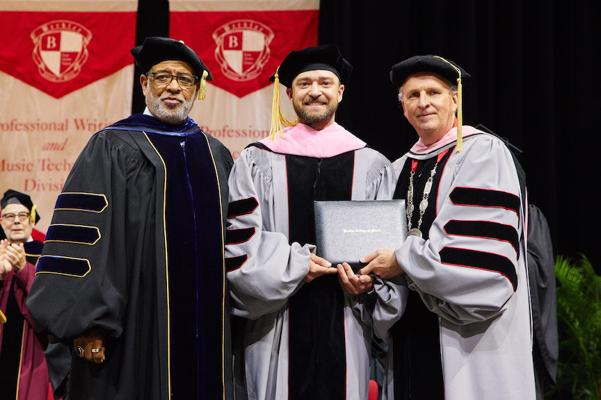 Justin Timberlake doctorate