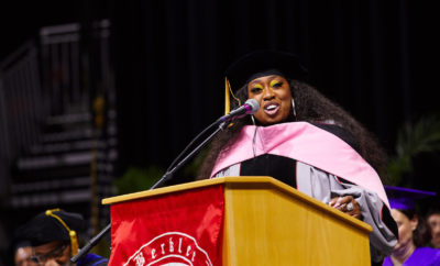 Missy Elliott receives honorary doctorate