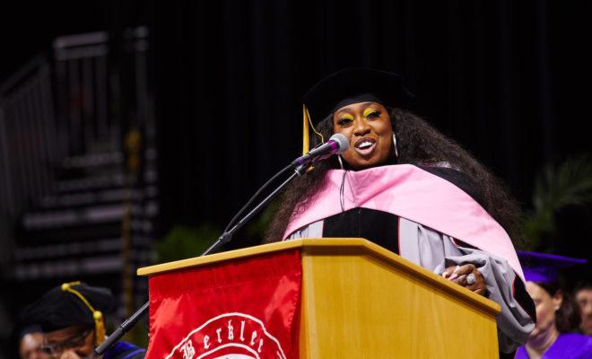 Missy Elliott receives honorary doctorate