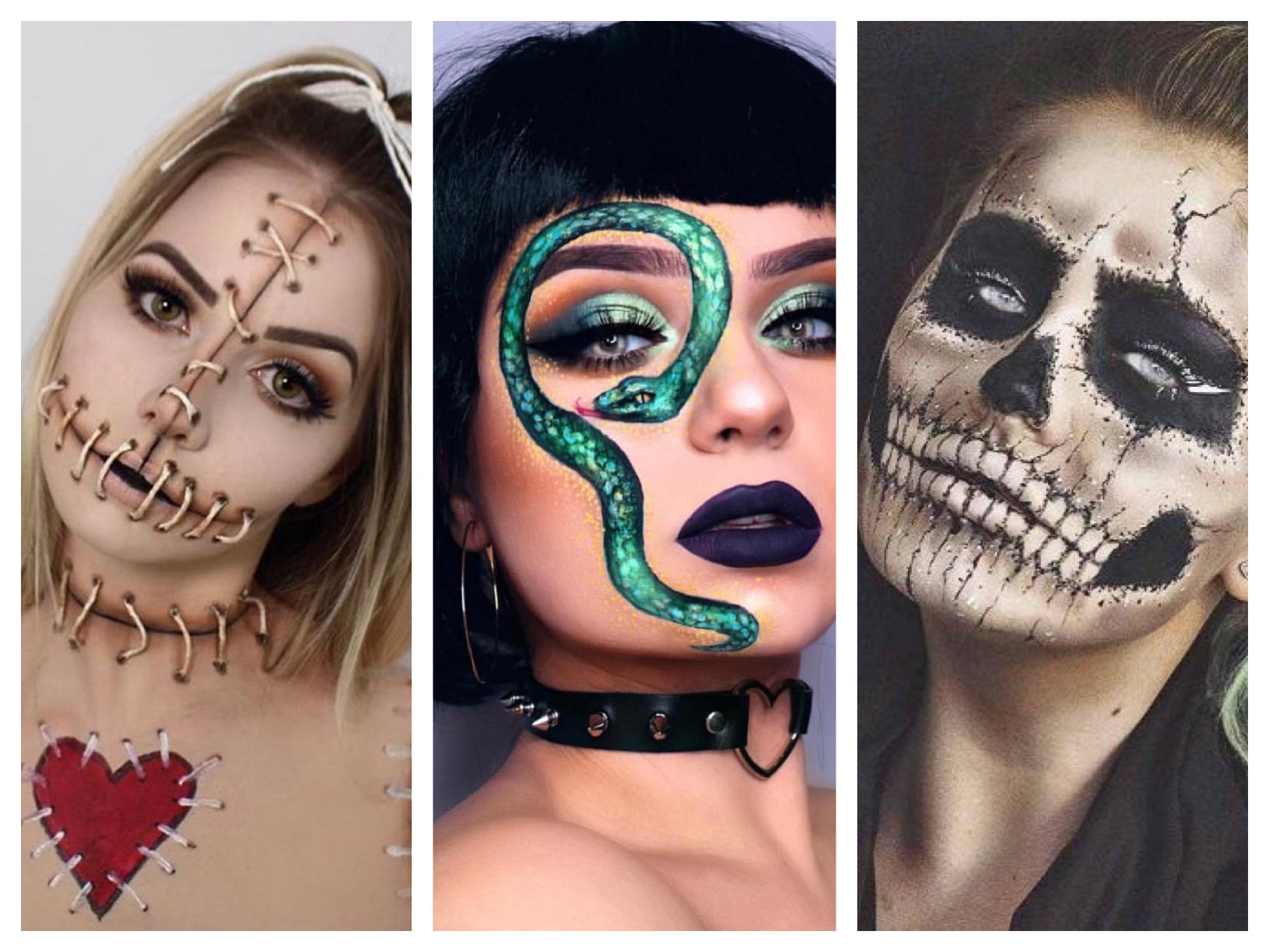 Creative Halloween Makeup Looks To Recreate Hers Magazine
